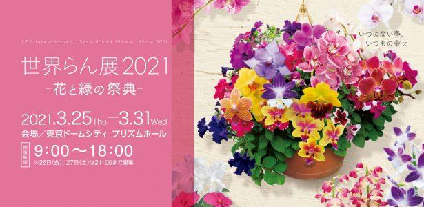 世界らん展2021 – 花と緑の祭典|受賞作品